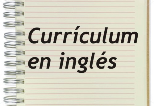 curriculum en ingles
